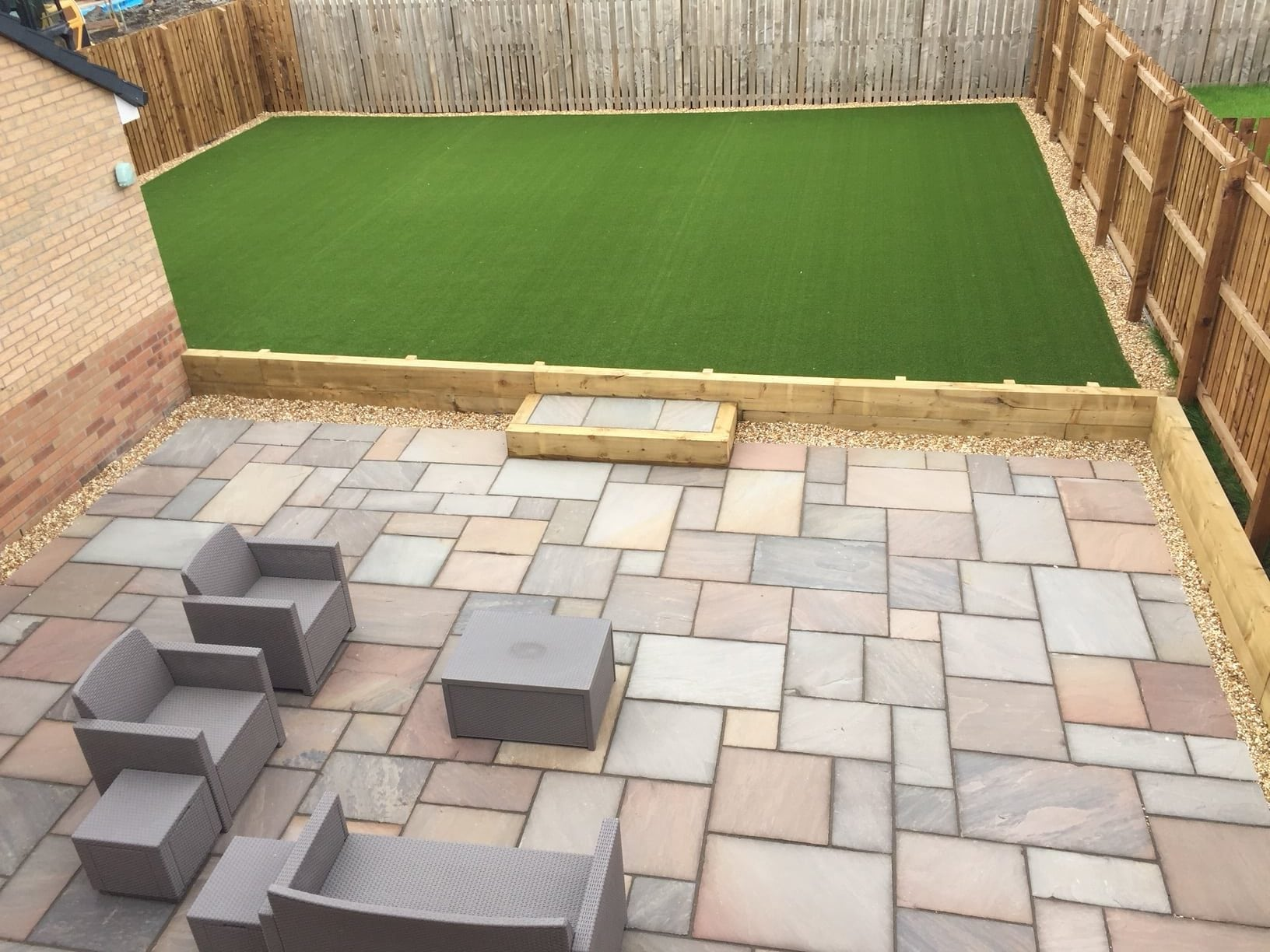 Artificial Lawn And Paving Installation Motherwell A Case