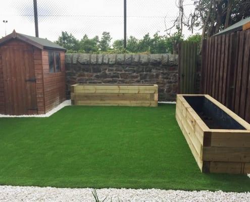 Artificial Lawn Installation Telford Grove Edinburgh