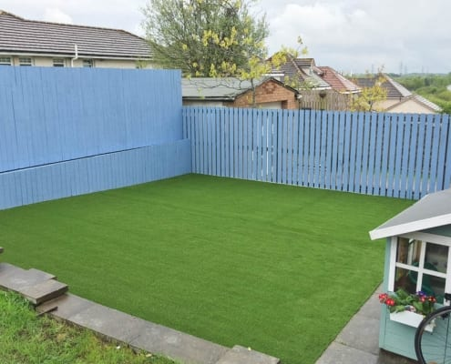 Artificial Lawn Installation Gartcosh North Lanarkshire