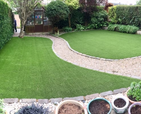 Artificial Lawn Installation Jordanhill Glasgow