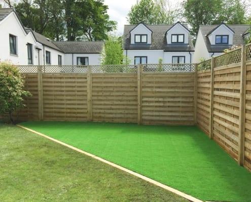 Artificial Lawn Installation Barnton, Edinburgh. An artificial lawn recently installed by The Artificial Lawn Company Livingston, West Lothian