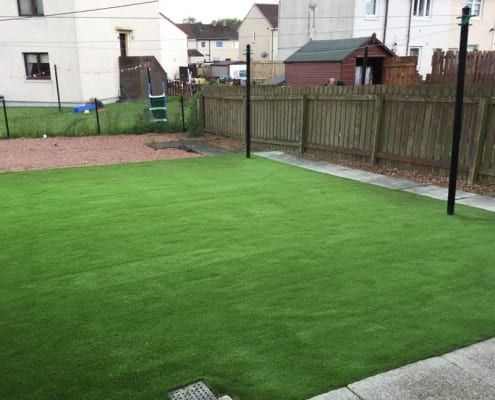 Artificial Grass Installation Newmains by The Artificial Lawn Company, Livingston, West Lothian