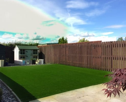 Artificial Grass Installation Whitburn by The Artificial Lawn Company, Livingston, West Lothian.