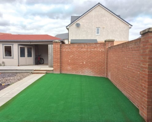 Artificial Grass Installation Motherwell by The Artificial Lawn Company, Livingston, West Lothian.