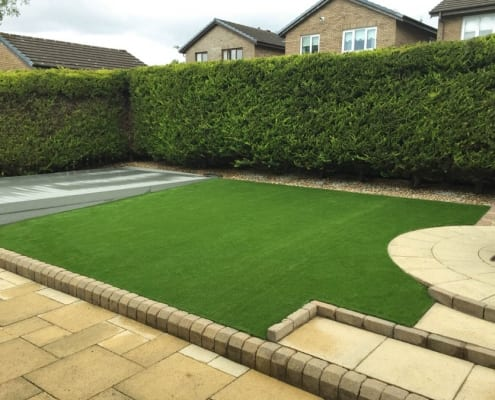 Artificial Grass Lawn Installation Glasgow by The Artificial Lawn Company, Livingston, West Lothian.
