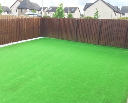 Artificial Grass Installation Kirkliston, West Lothian by The Artificial Lawn Company, Livingston, West Lothian.