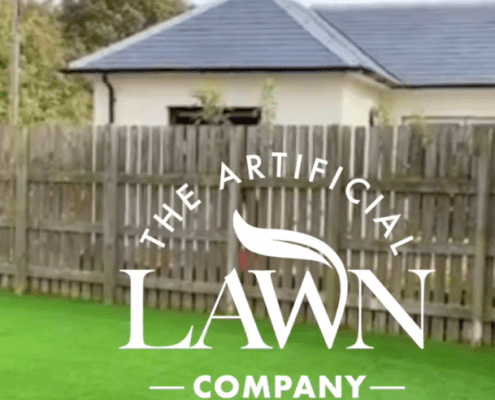 An Artificial Grass Installation Elie, Fife, Scotland by The Artificial Lawn Company Livingston, West Lothian.