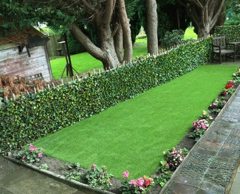 Artificial Grass Install Motherwell by The Artificial Lawn Company, Livingston, West Lothian.
