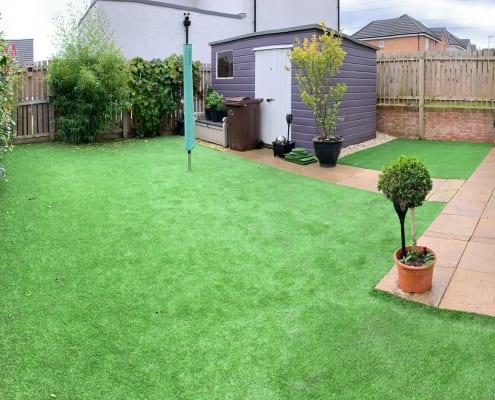 Artificial Lawn Installation Denny by The Artificial Lawn Company Livingston, West Lothian