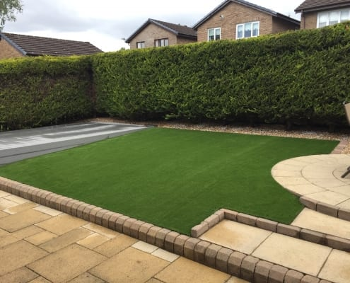 Artificial Lawn Installation Scotland 2019 by The Artificial Lawn Company, Livingston, West Lothian..