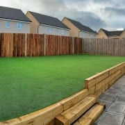 Artificial Turf Installation Livingston, by The Artificial Lawn Company, Livingston, West Lothian.
