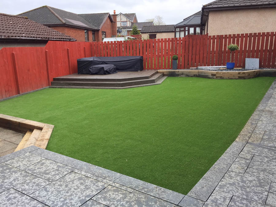 Artificial Lawn Installation Scotland by The Artificial Lawn Company, Livingston, West Lothian.